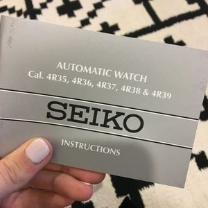 Seiko Accessories - New Seiko gold automatic watch